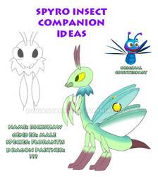 Spyro Insect Companion Ideas - Rickshaw