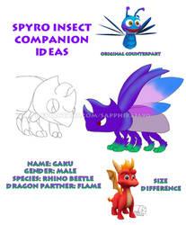 Spyro Insect Companion Ideas - Gaku