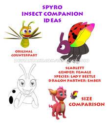 Spyro Insect Companion Ideas - Scarlett