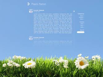 Fresh Blog Design by Ice8lue