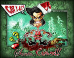 The Wolverine Santa...Claws concept! by Emanpris