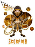 The Scorpion Concept! (Mortal Kombat Movie 2021) by Emanpris