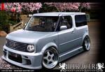 VIP style Nissan Cube JDM