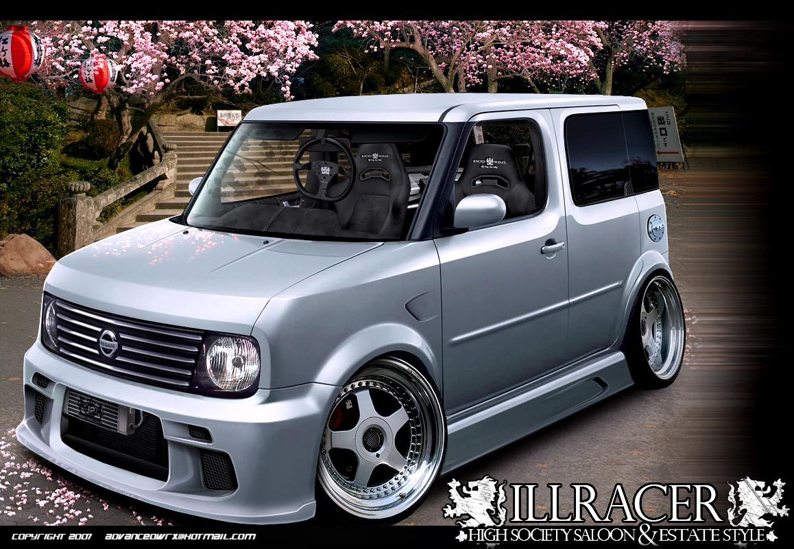 vip style nissan cube jdm by illracer on deviantart. Black Bedroom Furniture Sets. Home Design Ideas