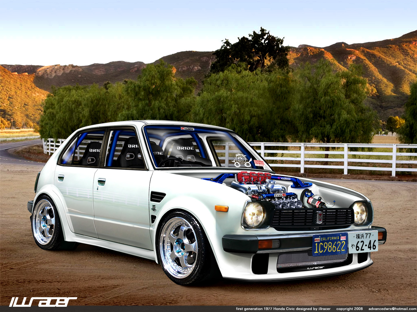 Ps Of A 77 Civic