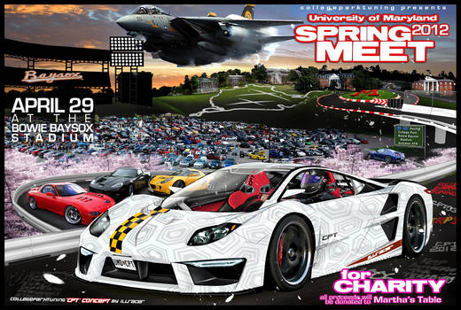 2012 Univ. of Maryland Charity Spring Meet Flyer