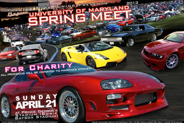 University of Maryland Spring Meet Flyer 2013
