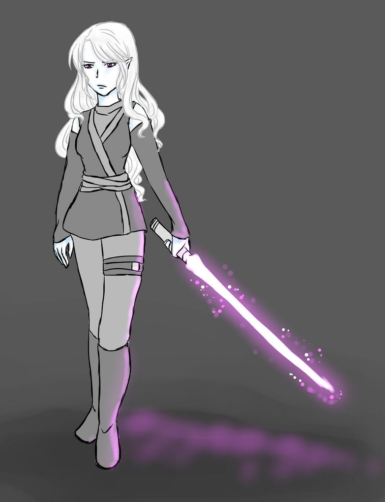 Violet saber v2 by JanaMay