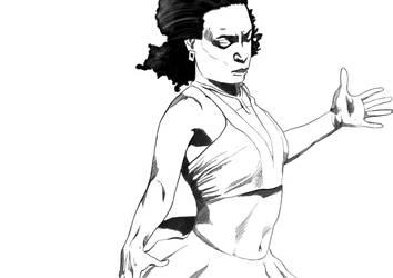 Sketch Moz Dance by Halfy