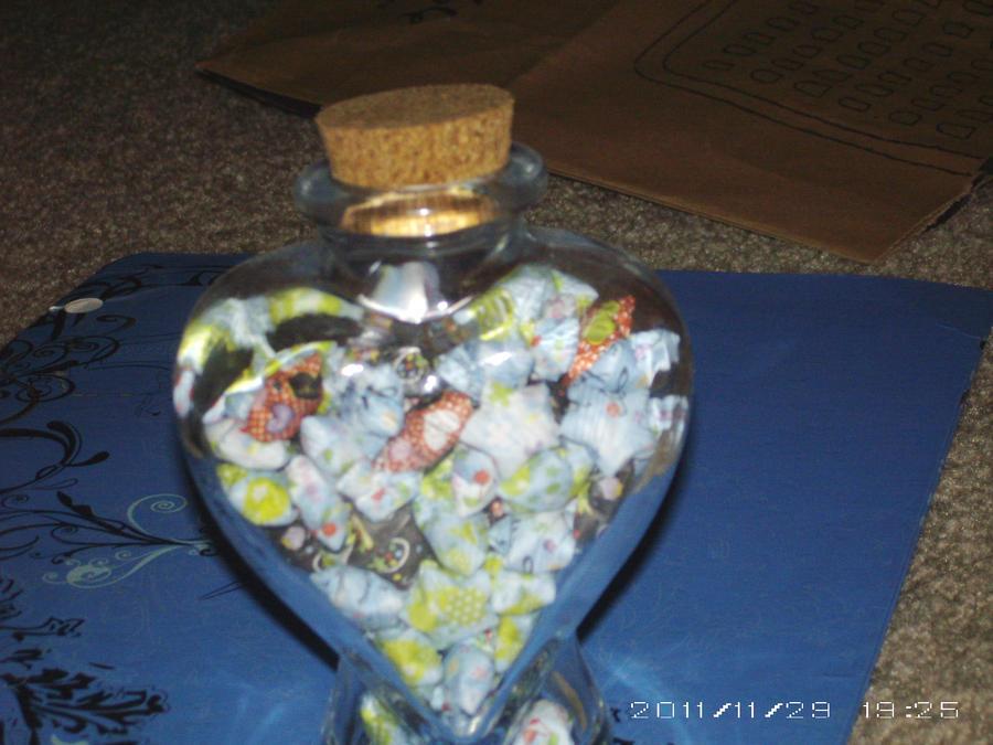 Lucky Stars from the Heart by morunitakanara