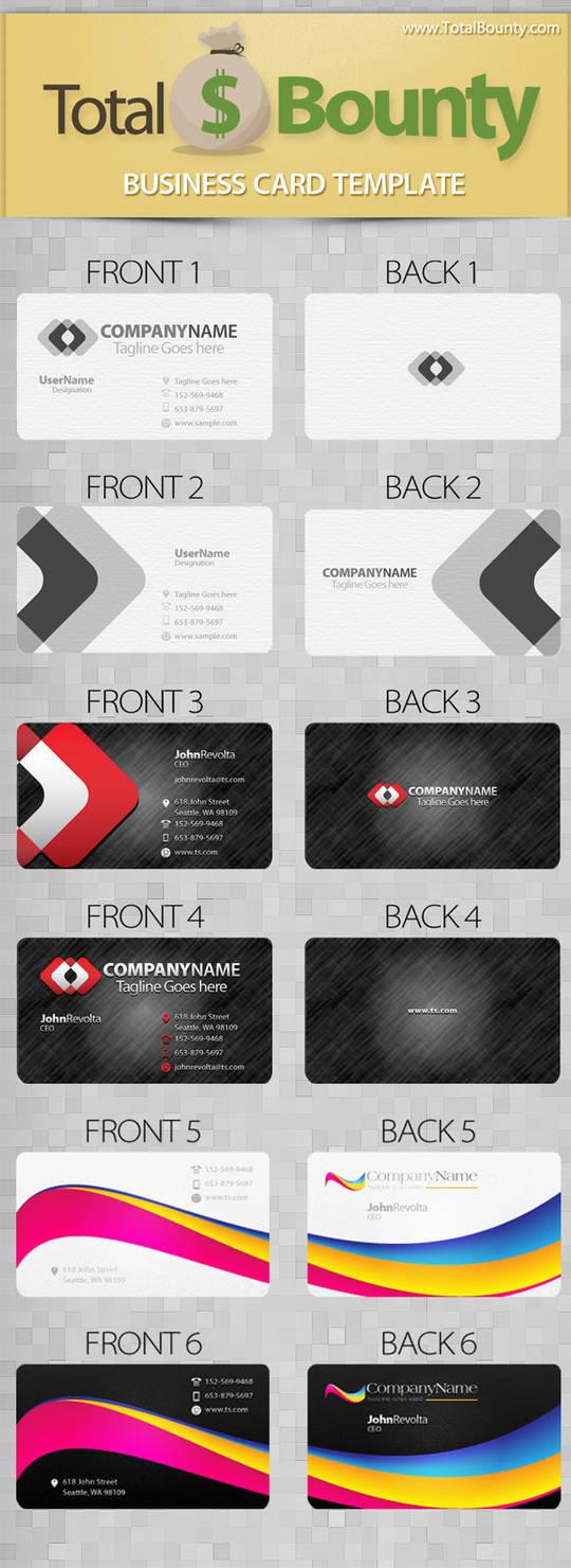 Business Cards PSD Template Design