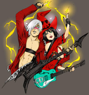 Dante And I-no Not my art