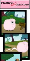 Fluffle's Bad Hair Day by Capt-SierraSparx