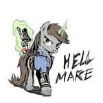 Hell Mare by Zoarvek [COLORED]