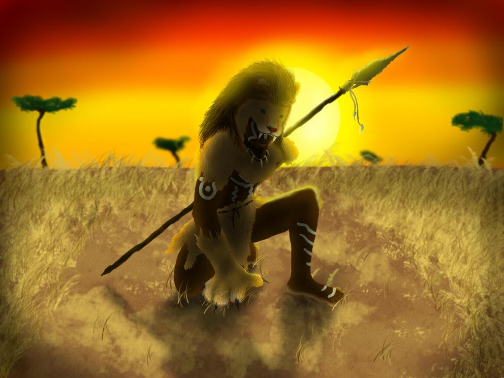 Deviantart Lion Warrior: Lion Warrior By Johnnycury On DeviantArt