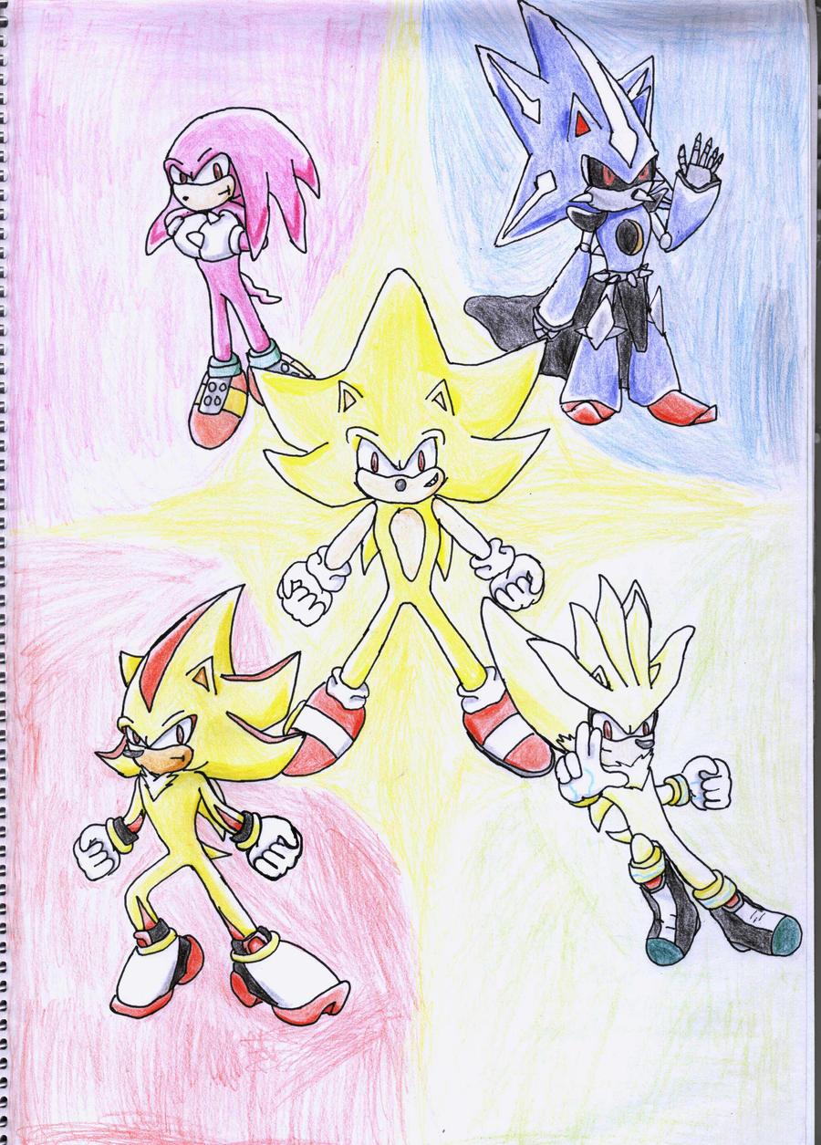Super Sonic Rivals by YgdrasilChaosControl on DeviantArt