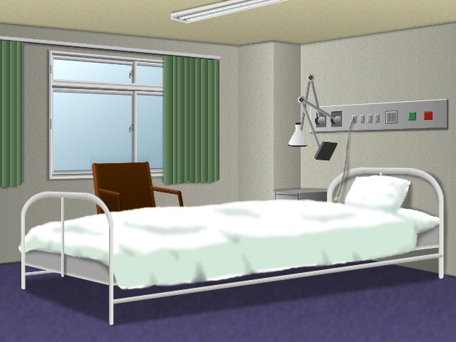 Hospital Bed By MarkLauck ...