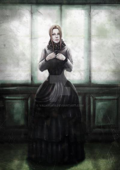 Lilith pasillo. by Valkiria19