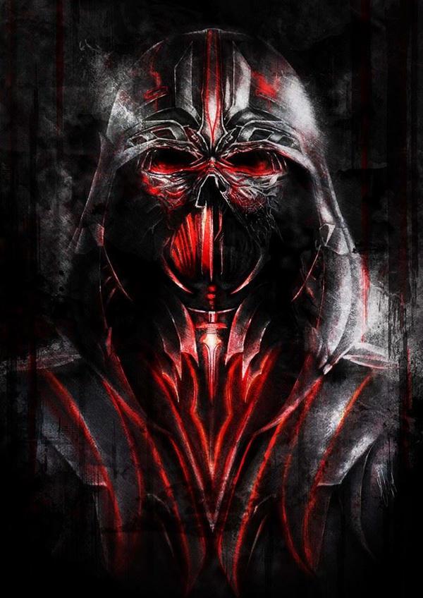 Darth Vader. by Valkiria19