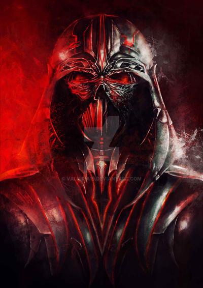Darth Vader V2. by Valkiria19