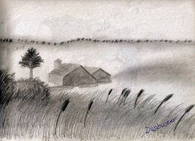 Landscape - Pencil by DCLeadboot