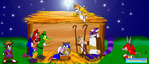 Nativity by the Sonic Cast by DCLeadboot