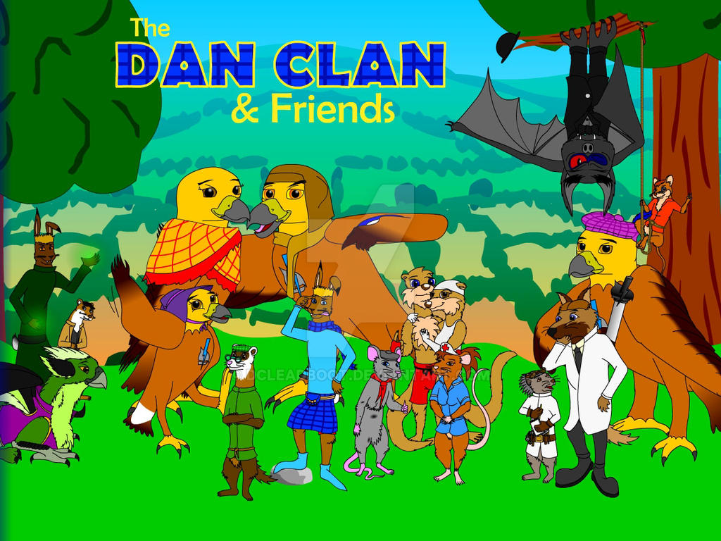 The Dan Clan - Group Pic
