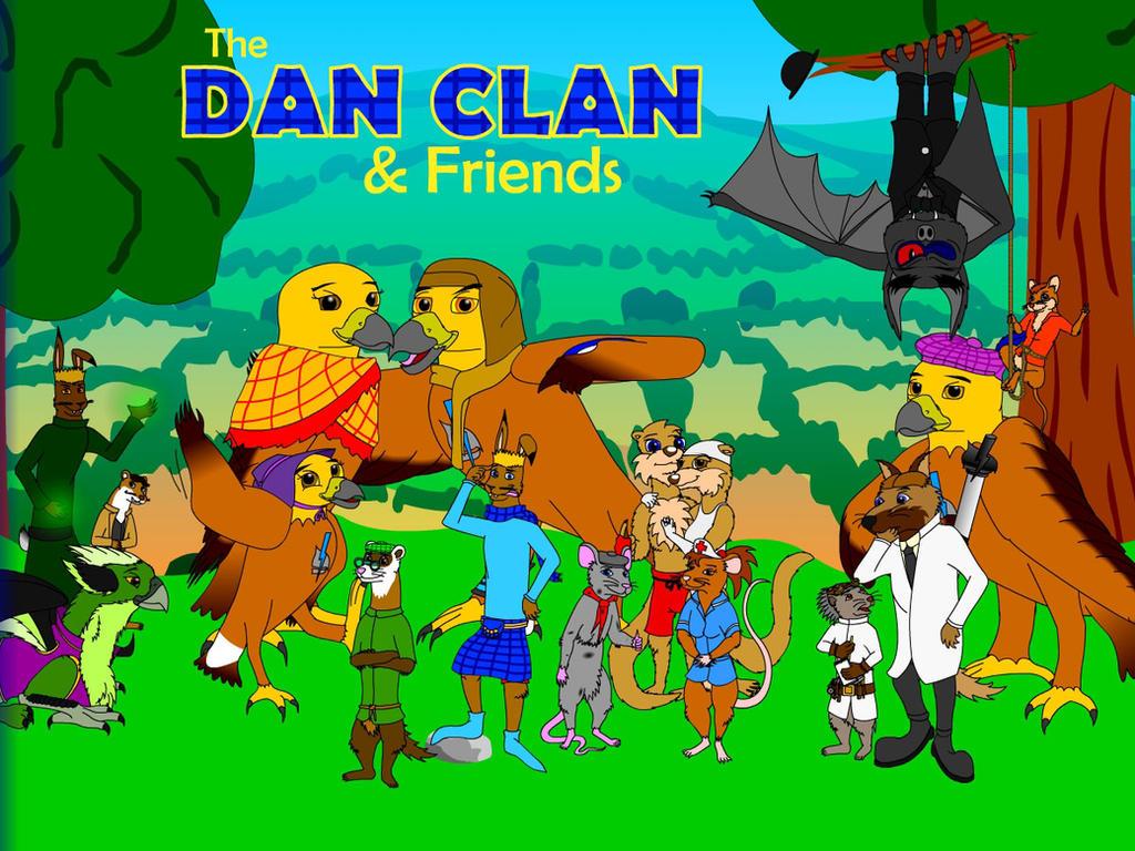 The Dan Clan - Group Pic