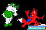 Art Trade - Gator and Luka