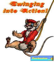 Darien Swings into Action by DCLeadboot