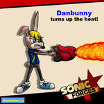 Sonic Forces - Danbunny turns up the Heat! by DCLeadboot