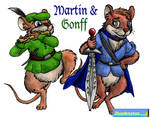 Martin and Gonff by DCLeadboot