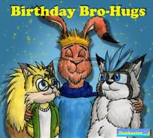 Birthday Bro-Hugs