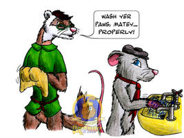 Wash Yer Paws!