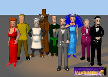 Cluedo - Characters by DCLeadboot