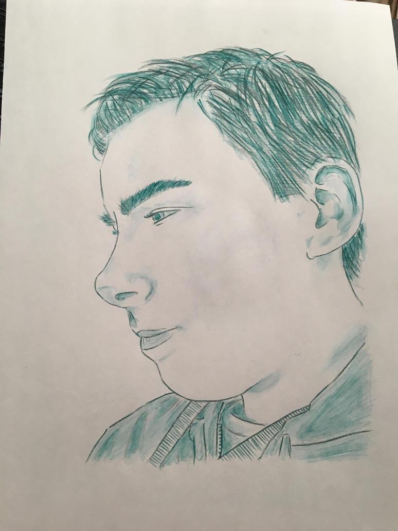 Portraiture Trial #8 (Watercolour) by Sarahfish28