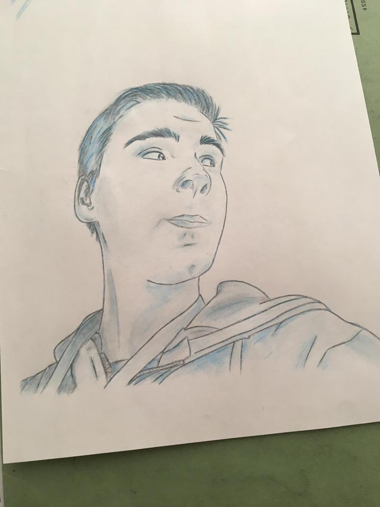 Portraiture Trial #9 (Watercolour) by Sarahfish28