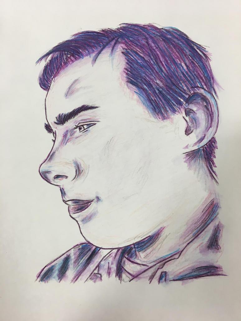Portraiture Trial #12 (Watercolour) by Sarahfish28