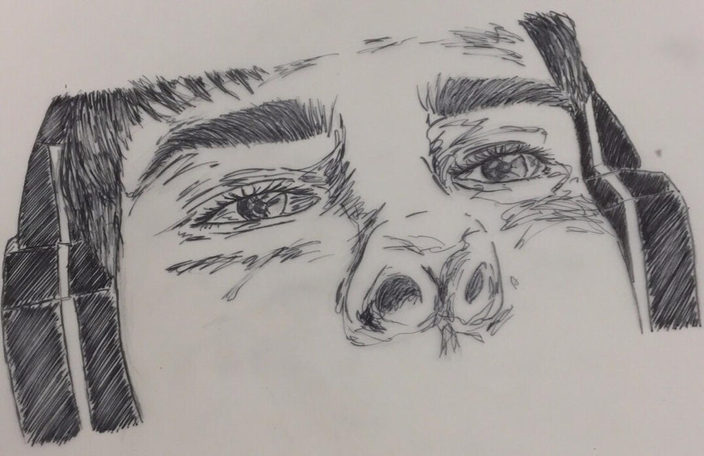 Up Close Portrait by Sarahfish28