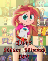 Sunset Shimmer Day! by SonicLegacy1