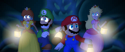 Mario Party: Phasmophobia Edition