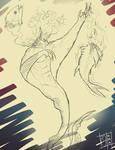 Art Prompt - Vampire Merman by APieceofJonk