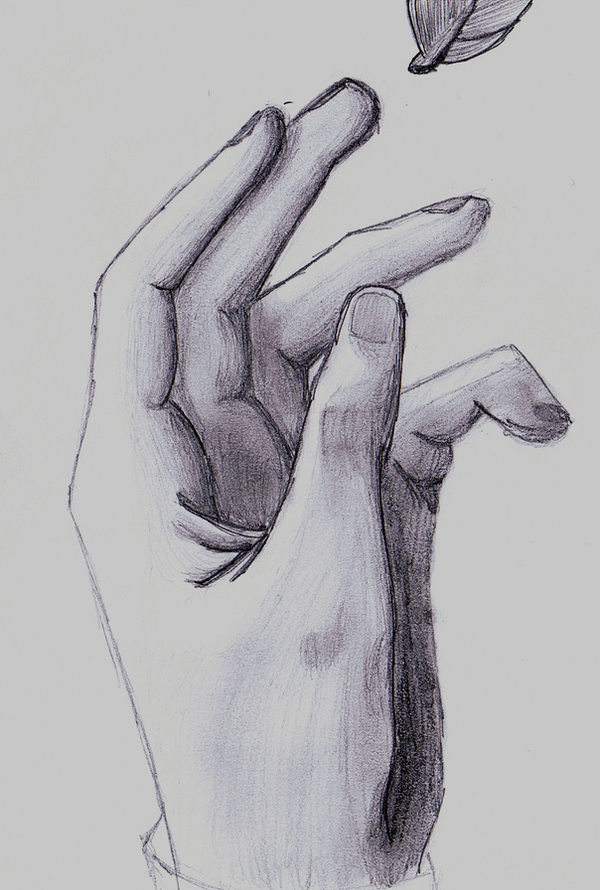 Hand - Reaching Out by Isa-san on DeviantArt