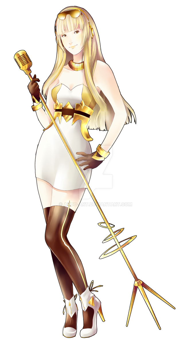 Cyber diva without sunglasses by akuo art on deviantart - Cyber diva vocaloid ...