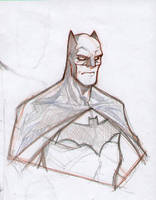 Batman sketch by DenisM79