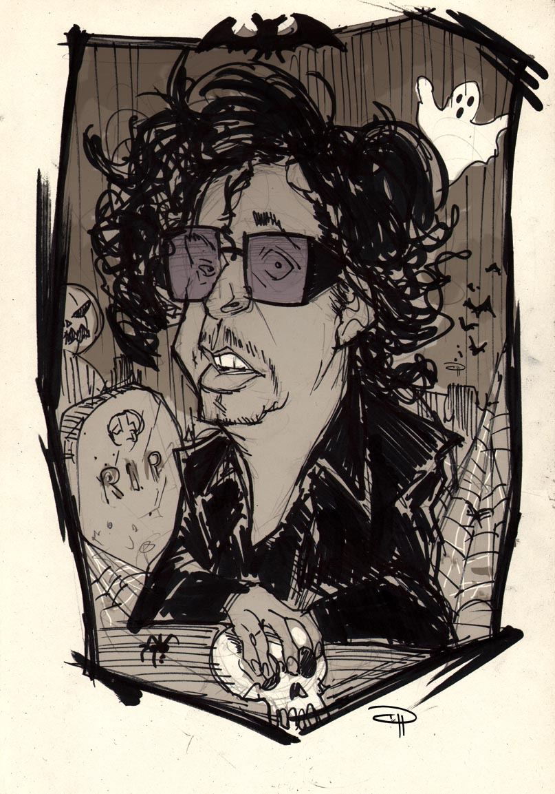 Tim Burton by DenisM79