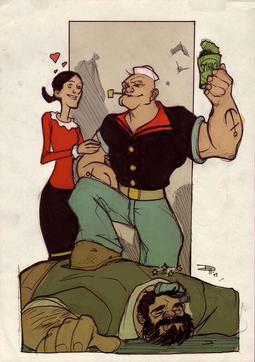 Popeye by DenisM79