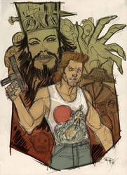 Big Trouble in Little China by DenisM79