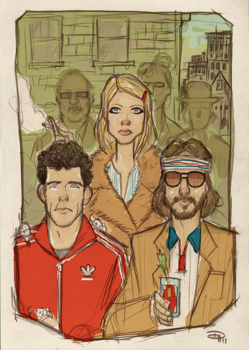 Royal Tenenbaums by DenisM79