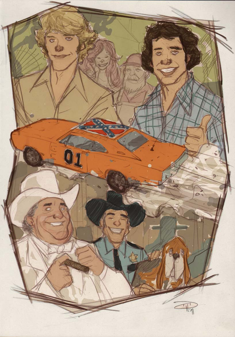 Dukes of Hazzard by DenisM79